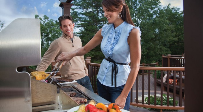 Preparation will help you make the most of your Fourth of July parties celebrated on a Trex deck.